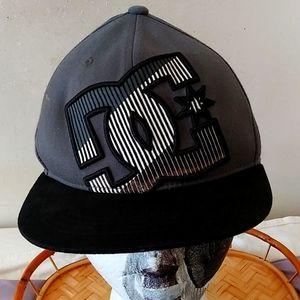 DC hat $28 size6 7/8 uni-sex +free hat